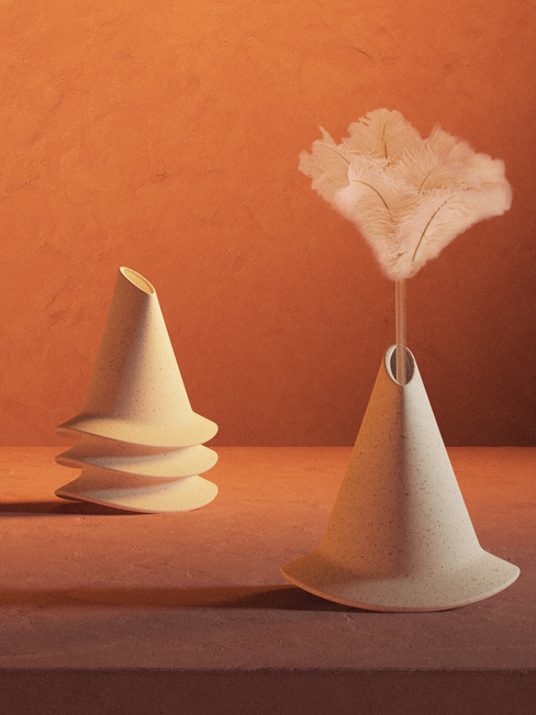 Witch Vase With Duster