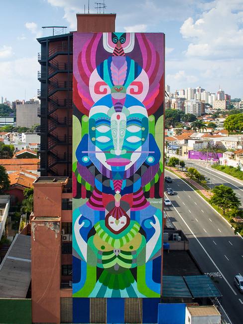 Mural, São Paulo, Brazil