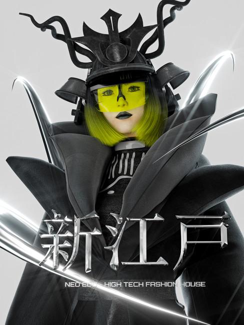→ Hikari in new Neo -Edo w/suit Contemporary Samurai.