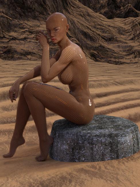 Desert Girl 2