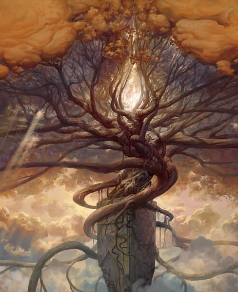 EIN SOF EMANATION OF INFINITE TREE OF LIFE