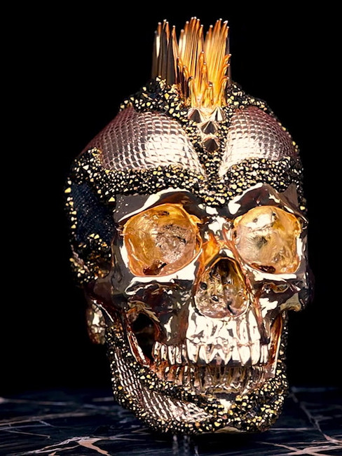 Skull Gold Python