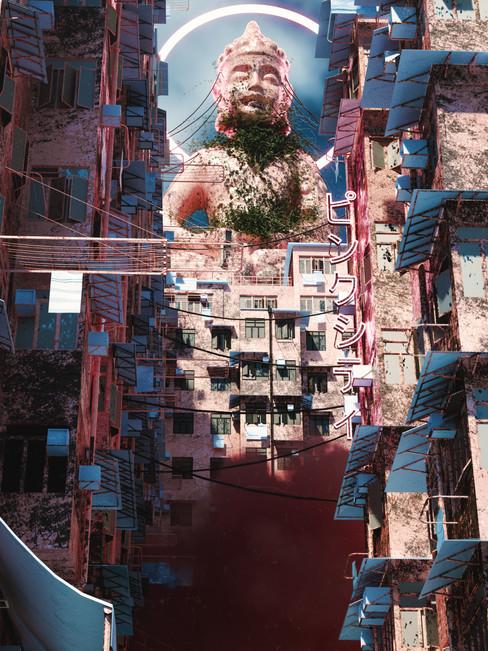 Pink Neighborhood - Buddha Area