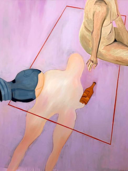 Behaviour, 2020, oil on linen, 25 x 20 cm