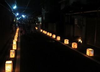 ☆灯籠で飾ろう二川宿