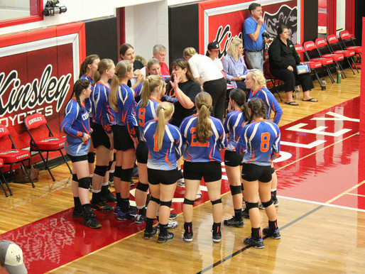 Lady Cougars Volleyball place 7th at Central Prairie League