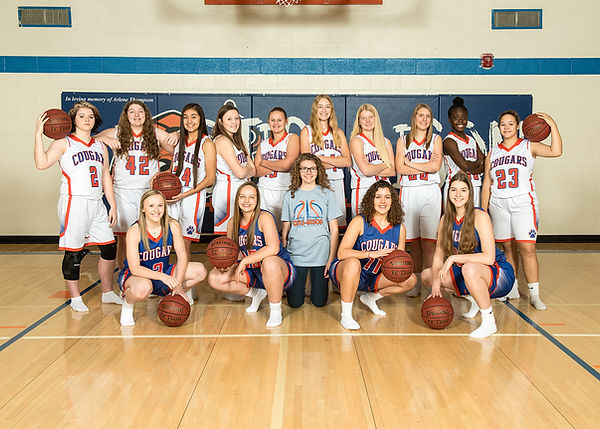 OBHS Lady Cougars Team Photo