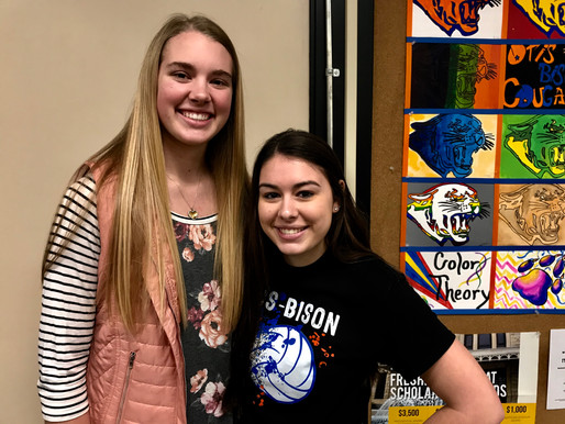 Two Otis-Bison Volleyball players ranked amongst top in state