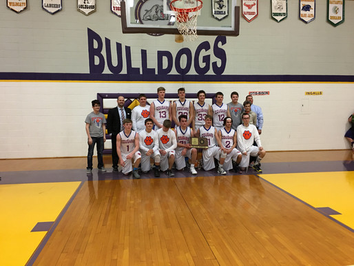 Otis-Bison is going to State Basketball!