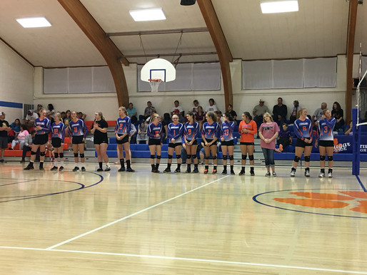Parent's Night for HS Volleyball