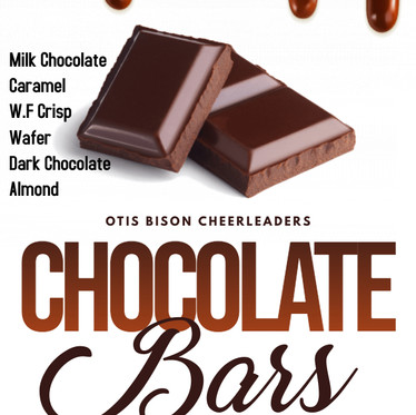 Cheerleader Chocolate Sales