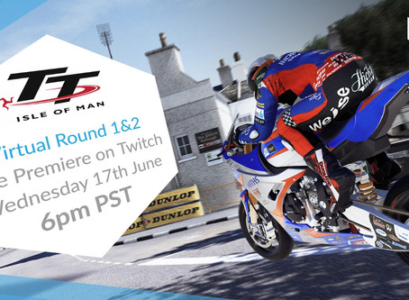Watch the Virtual TT Isle of Man Tonight at 6:00pm PST