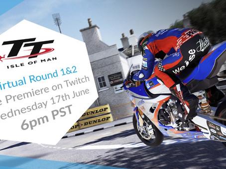 Watch the Virtual TT Isle of Man Tonight at 6:00pm PST