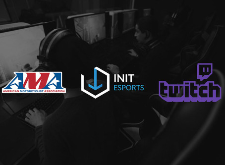 INIT ESPORTS partners with the AMA and Twitch for two-wheel sim-racing
