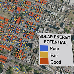 Solar Energy Potential Map