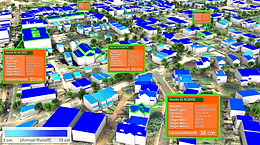 stormwater runoff sustainability 3D model
