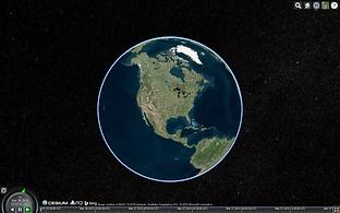 Cesium globe
