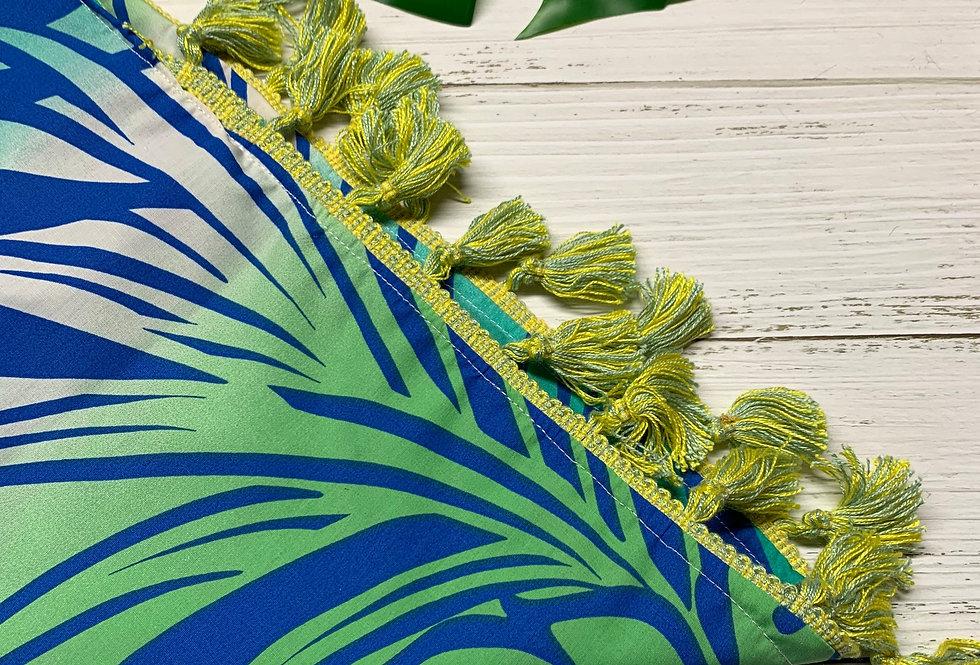 Tropical Fursuit Bandana with Fringe, Fursuit accessories