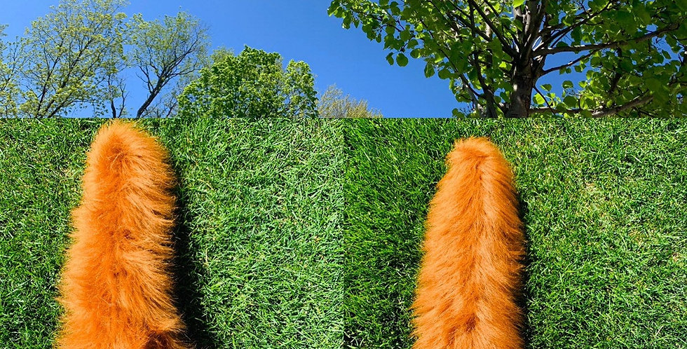 Realistic Large Red Fox Fursuit Tail