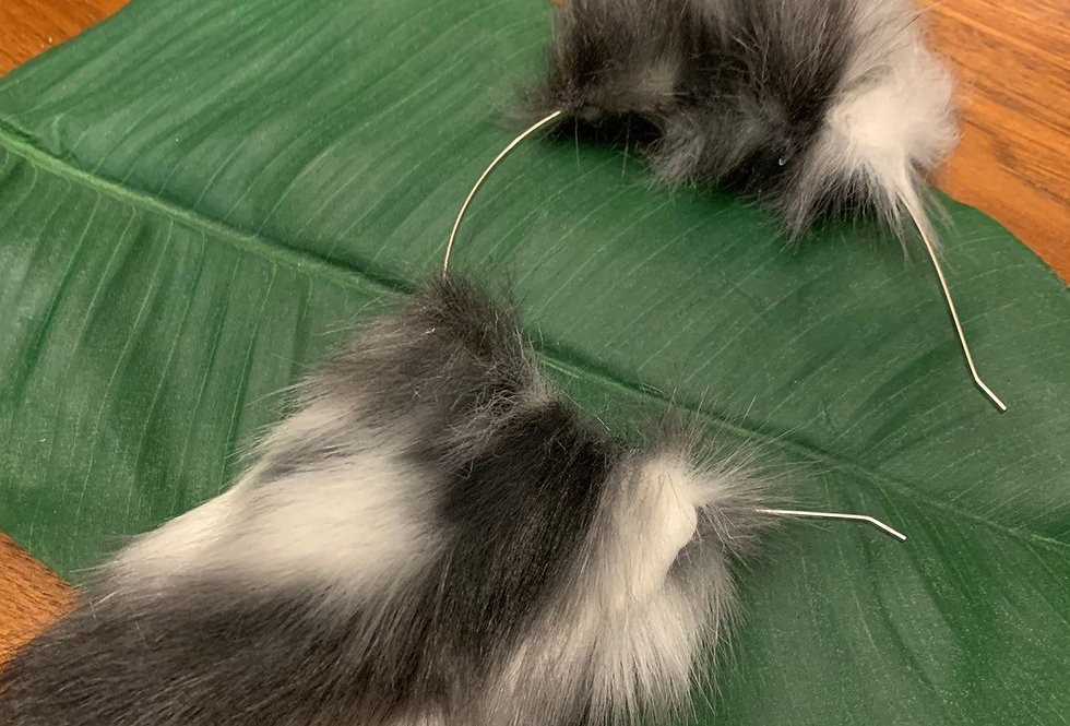 Realistic Leopard Kitten Ears