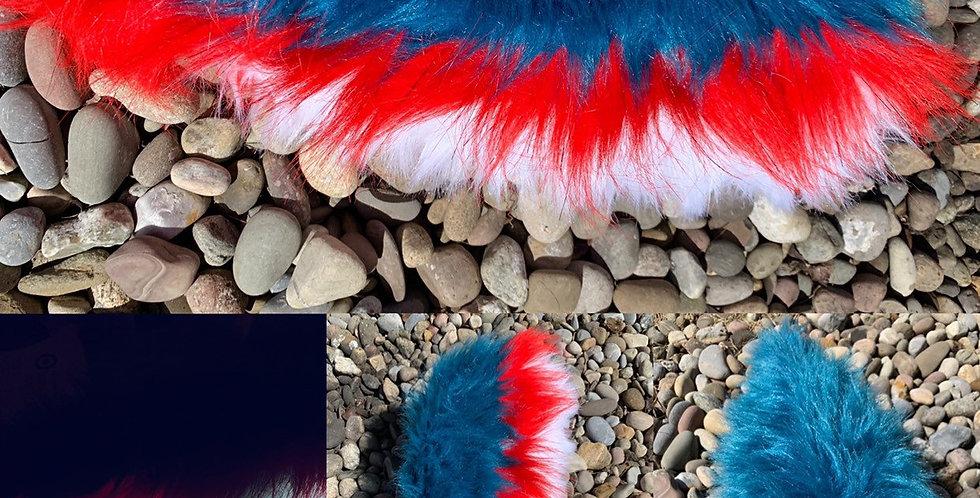 Glowing Dino Fursuit Tail