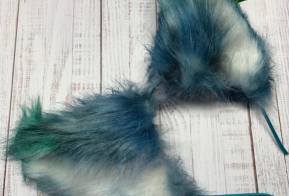 Blue Sea Mist Cat Ears