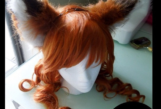 Red Fox Furry Ears