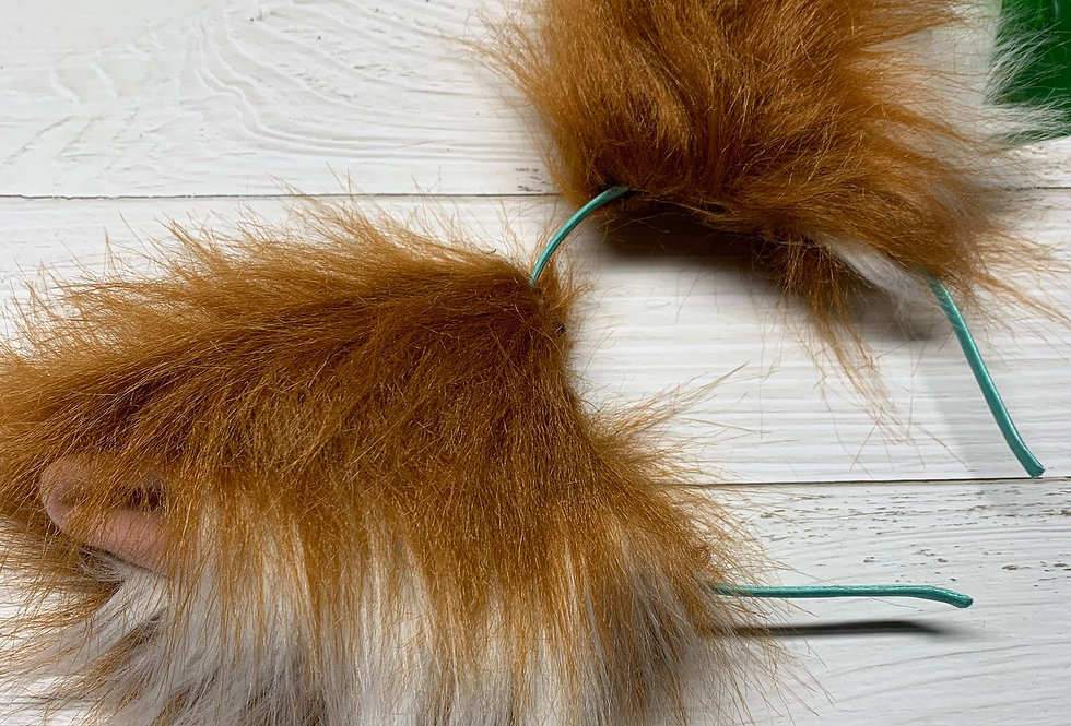 Realistic Red Fox Furry Ears