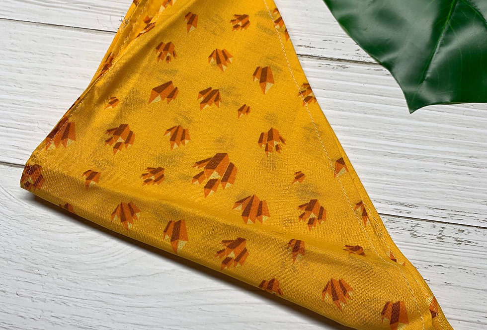 Yellow Crystals Bandana