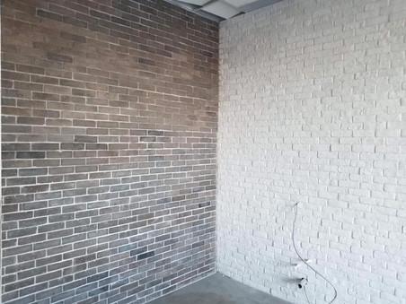Murs de briquettes