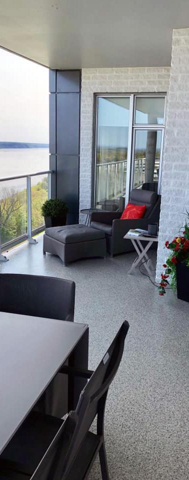 Plancher de balcon