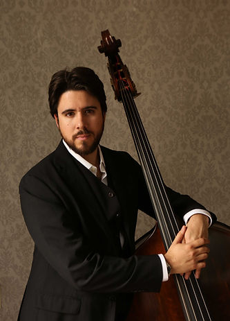Mario Carrillo Ana Nance music bass portrait