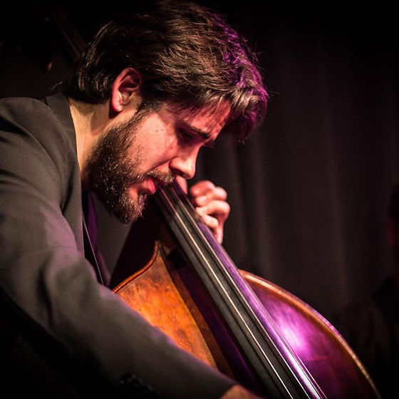 Mario Carrillo contrabajo double bass café berlín madrid