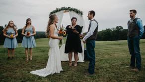 Tasha & Eric | Rustic Wedding | Central, PA | Taylor Slusser Photography