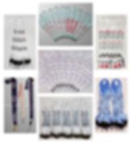 Collage Cintas portacredenciales para wi