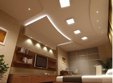 security and indoor lighting, ceiling and attic fans