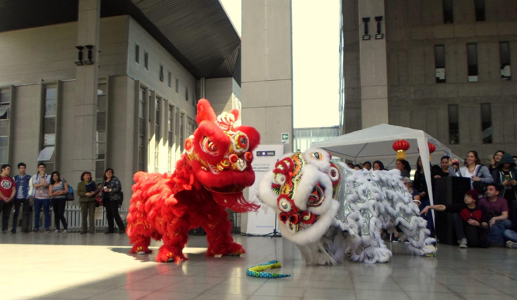 Danza del León en UCENTRAL