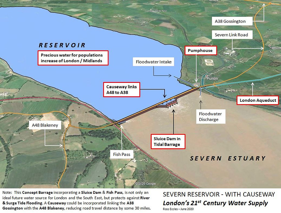 Severn Reservoir with Causeway 15.6.20.J