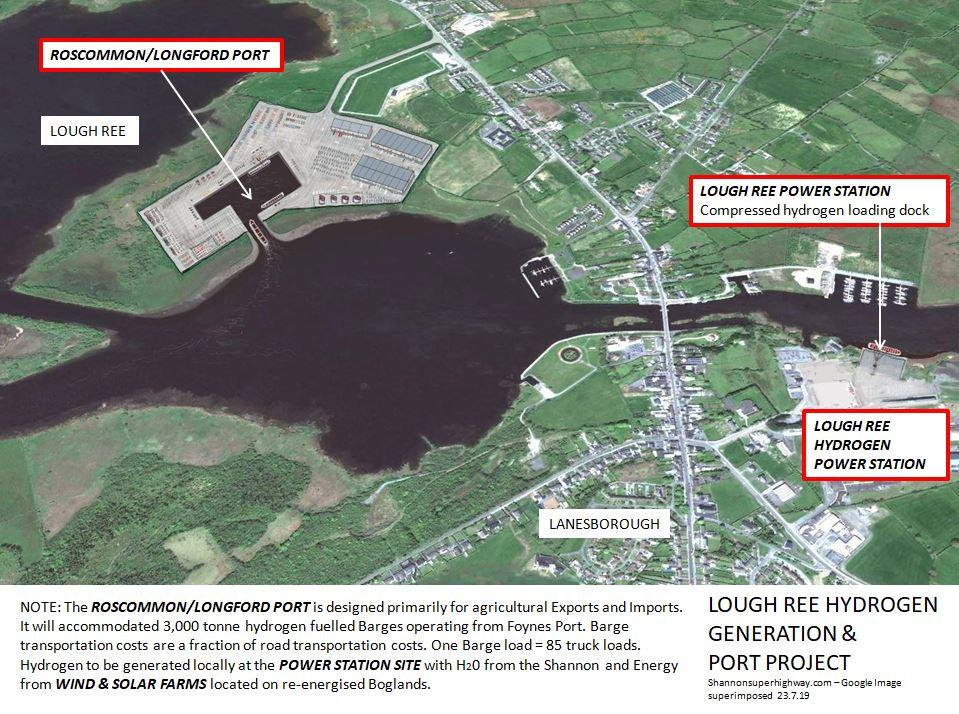 Lough Ree Hydrogen Power Station 23.7.19
