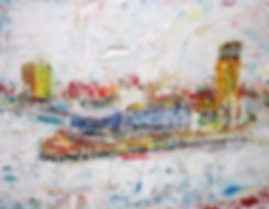A17-10 Mist over Salford Quays 36x28in.J