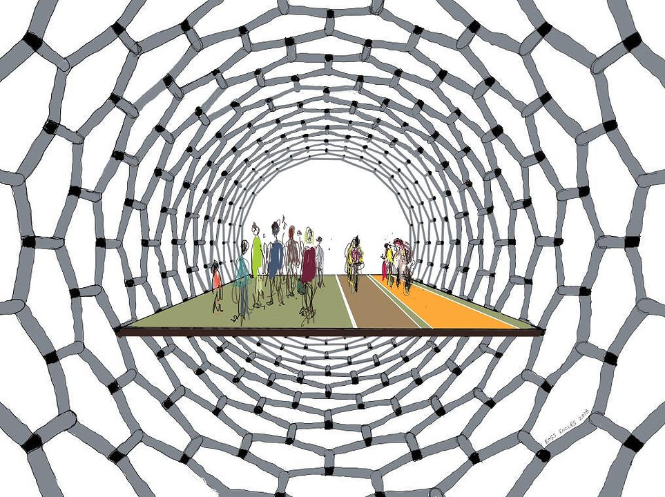 Nanotube pedestrian and cycle bridge.JPG