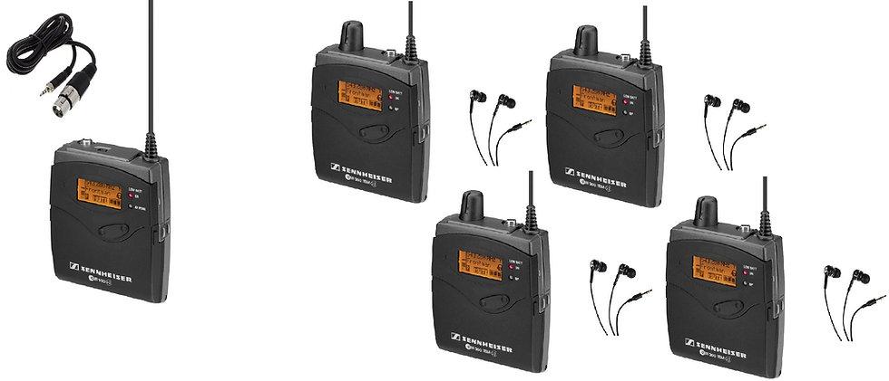 Sistema Monitorado Personal IN-EAR Sennheiser IEM  (Portatil)