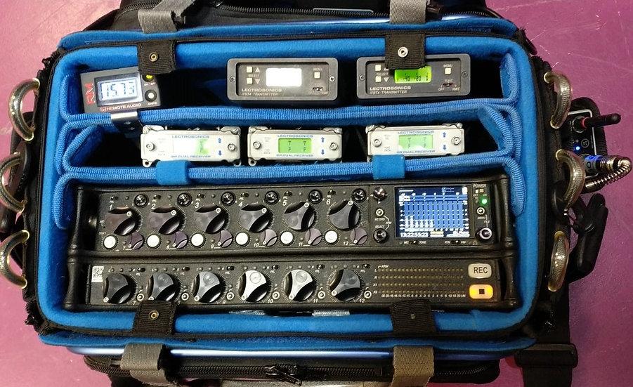 SoundBag con equipos Sound Devices-688 / Lectrosonics - (Pack)