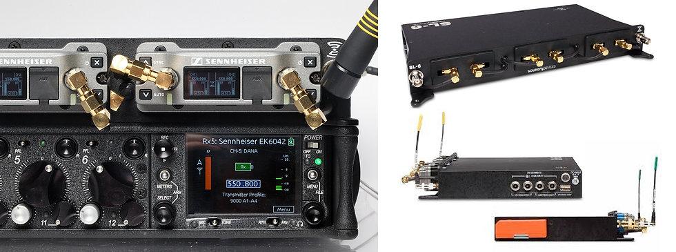 Micrófono inalámbrico (6ch) Sennheiser EK6042 (solo con Sound Device-688)