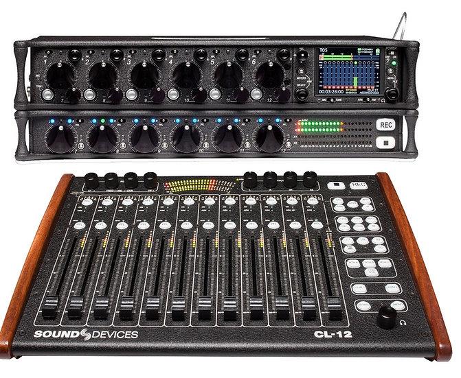 Grabador de audio Sound Devices 688 + controladora CL12+CL6