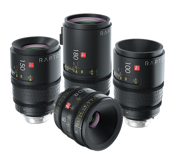 Ib/e Optics Raptor T2.9 (60,100,150,180mm)