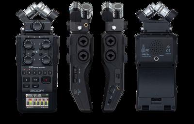Grabador de audio Zoom H6n