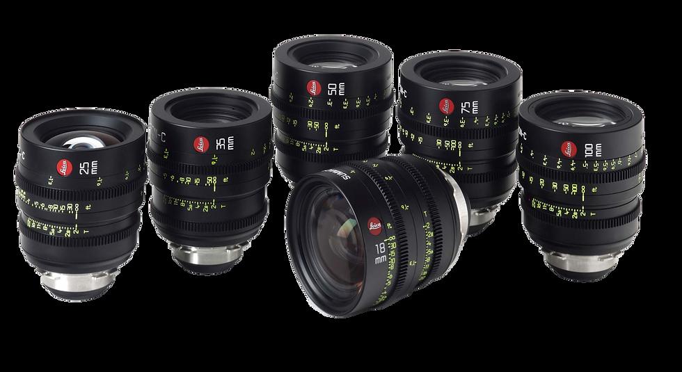 Leica Summicron-C T2.2 (18,21,25,29,35,40,50,75,100,135mm)