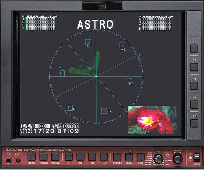 Monitor forma de onda Astro Wm3209