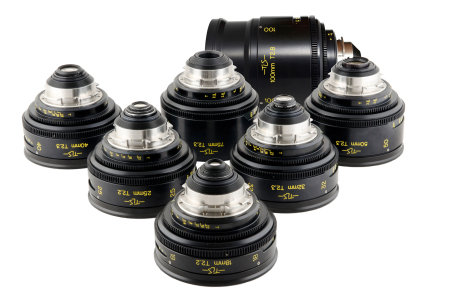 Cooke Speed Panchro S2/S3 T2.2/T3.2 (18,25,32,40,50,75,100,152mm)